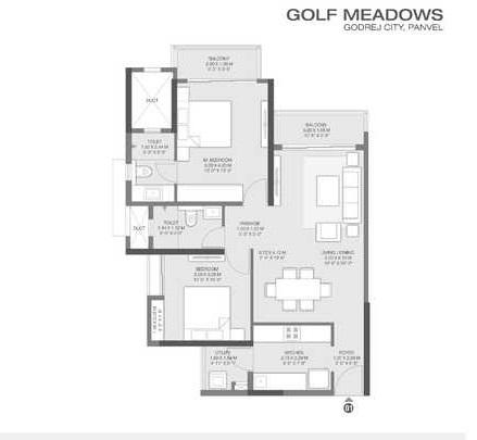 godrej golf meadows apartment 2bhk 837sqft41