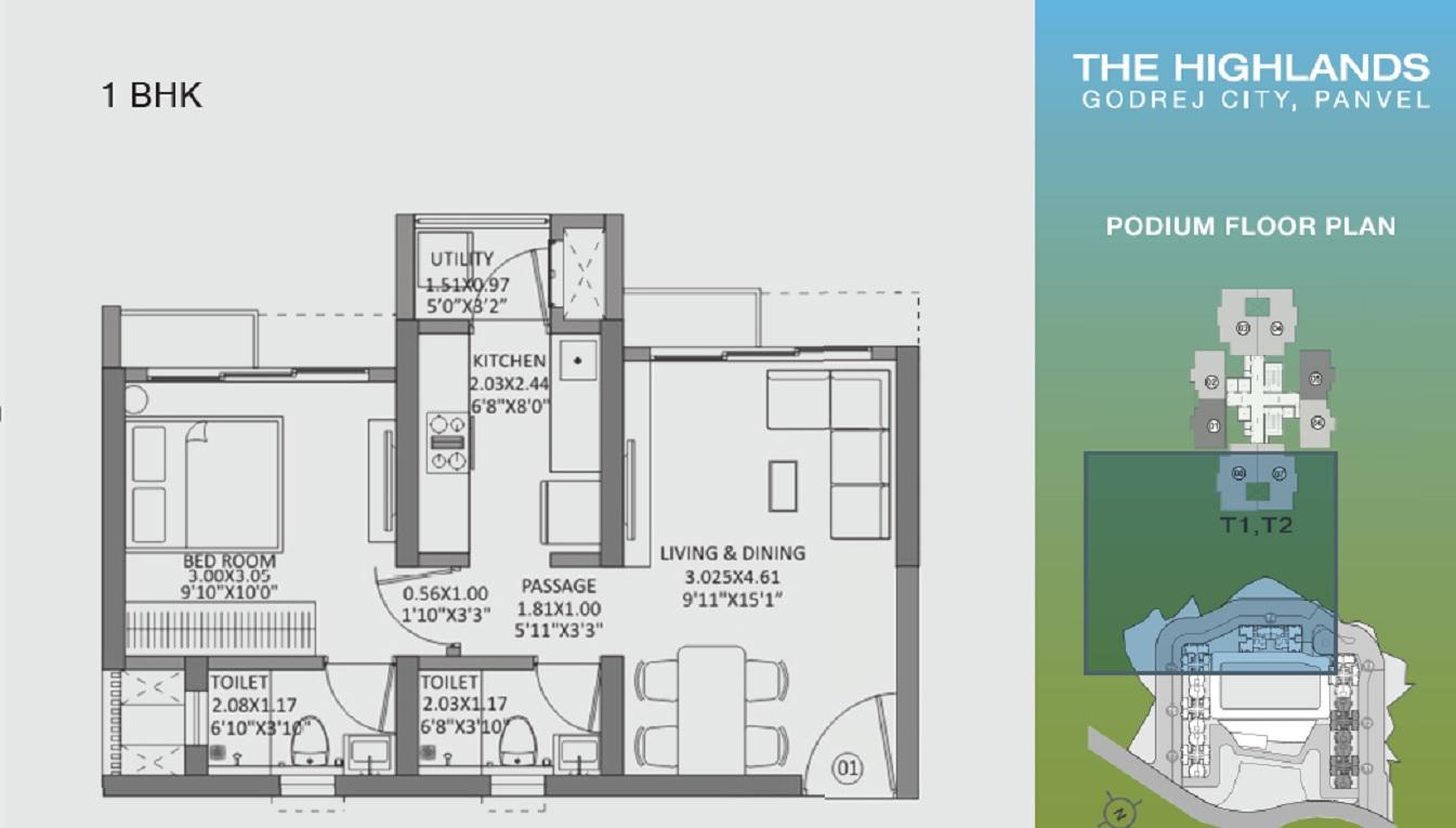 godrej the highlands apartment 1 bhk 438sqft 20202002112002