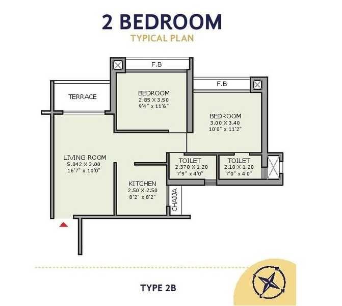 jp airoli tower apartment 2 bhk 430sqft 20214509154523