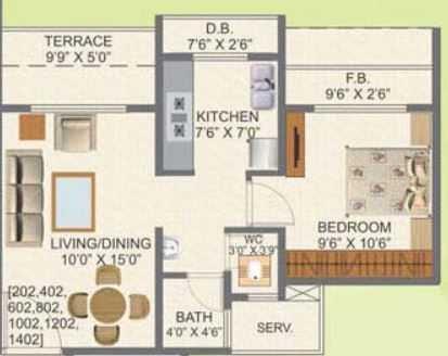 kamdhenu aura apartment 1 bhk 711sqft 20211026161011