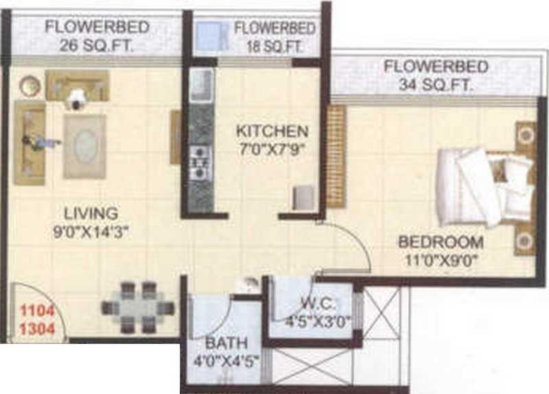 pinnacle dreamz apartment 1 bhk 610sqft 20201711121745