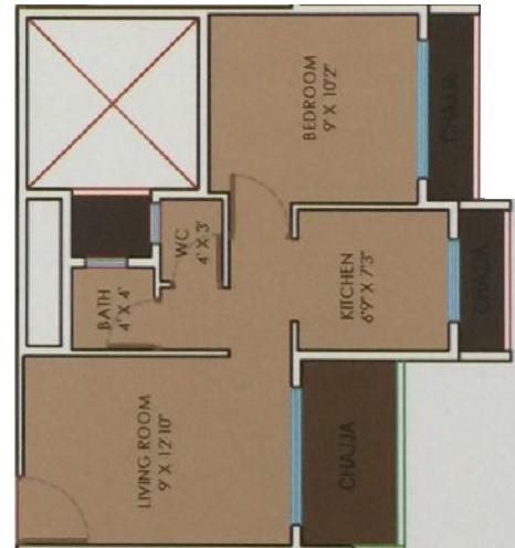 shubh krishna enclave apartment 1 bhk 443sqft 20212410142401