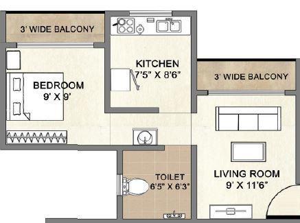 space sai moreshwar apartment 1 bhk 500sqft 20210406110409