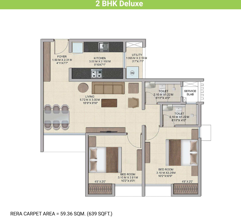 wadhwa wise city apartment 2bhk 638sqft61