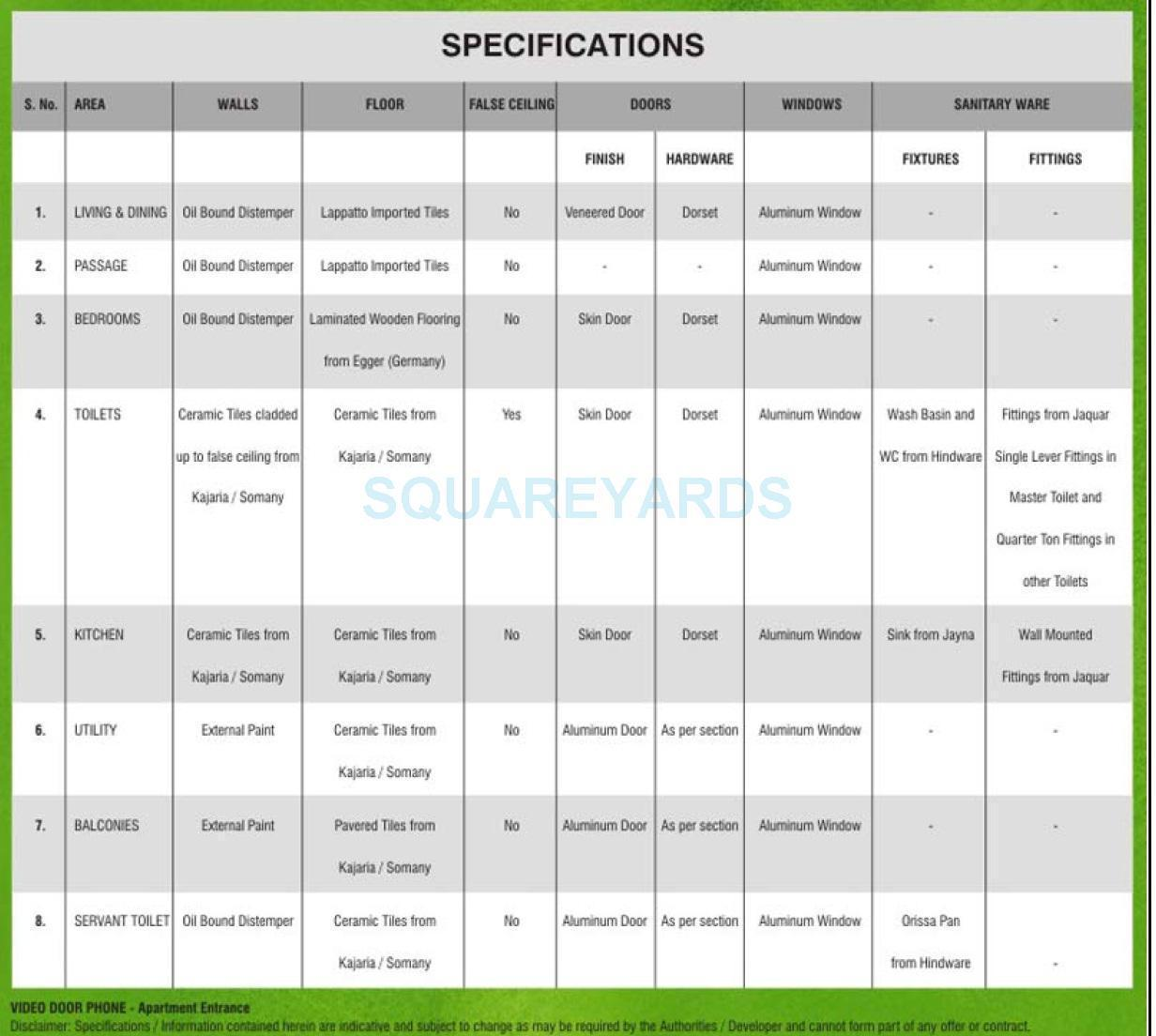 3c lotus boulevard espacia specification1