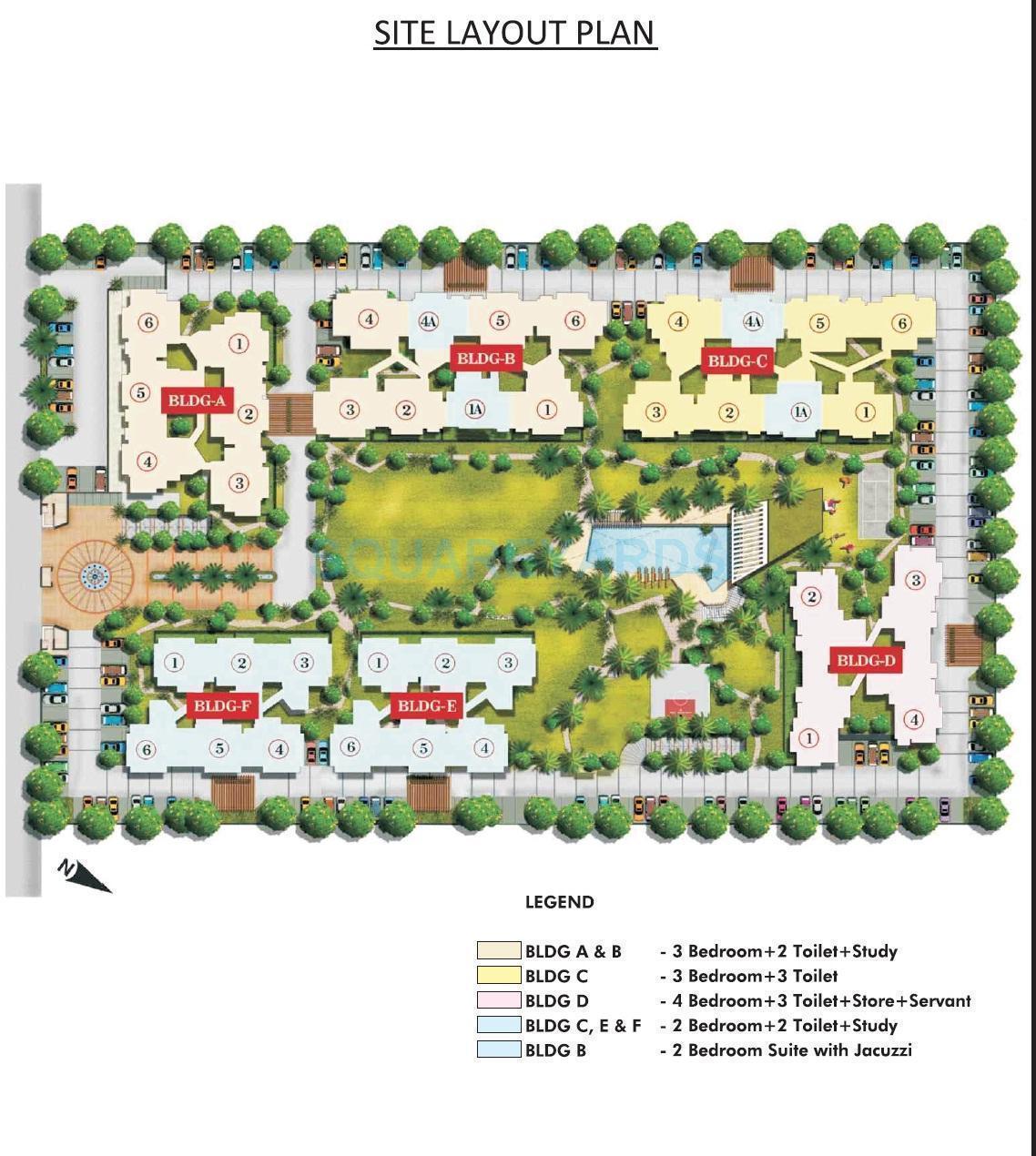 aarcity regency park master plan image1