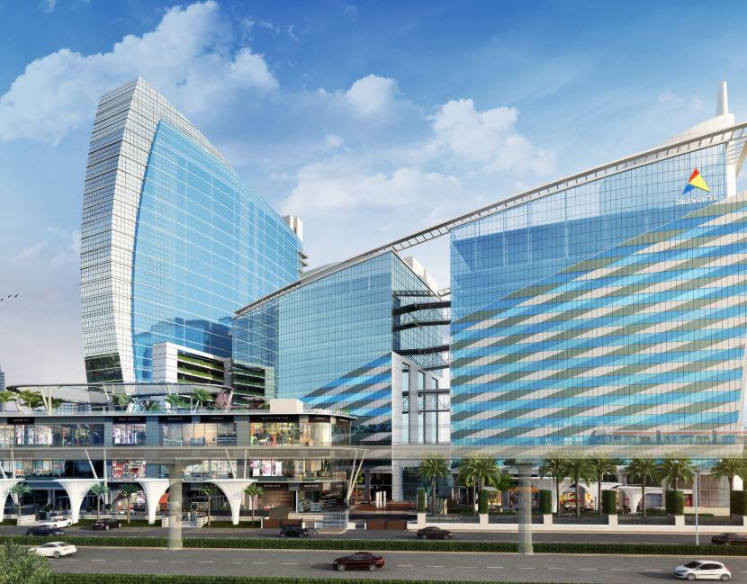 advant navis business park tower view4