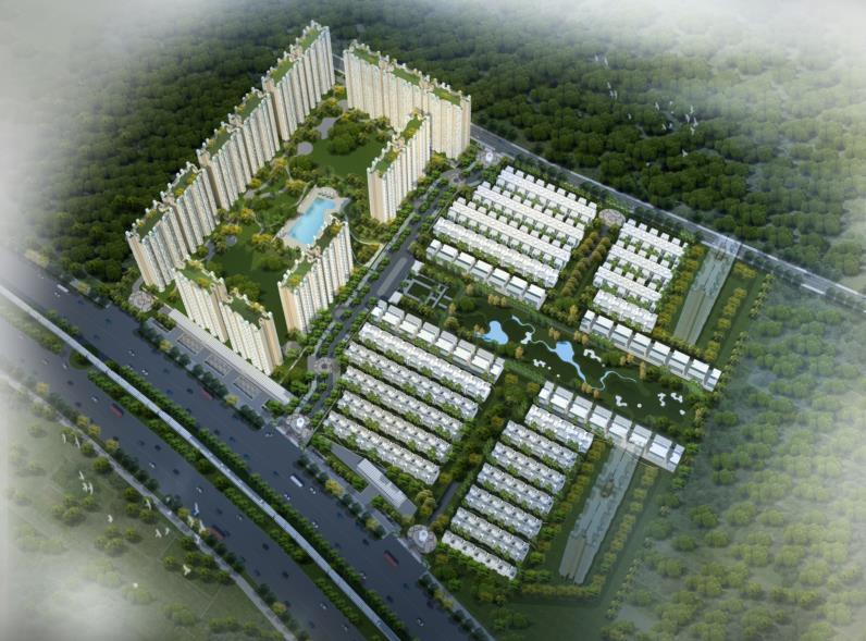 ajnara khel gaon phase 2 tower p q and r tower view4