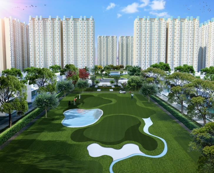 ajnara khel gaon phase 2 tower p q and r tower view5