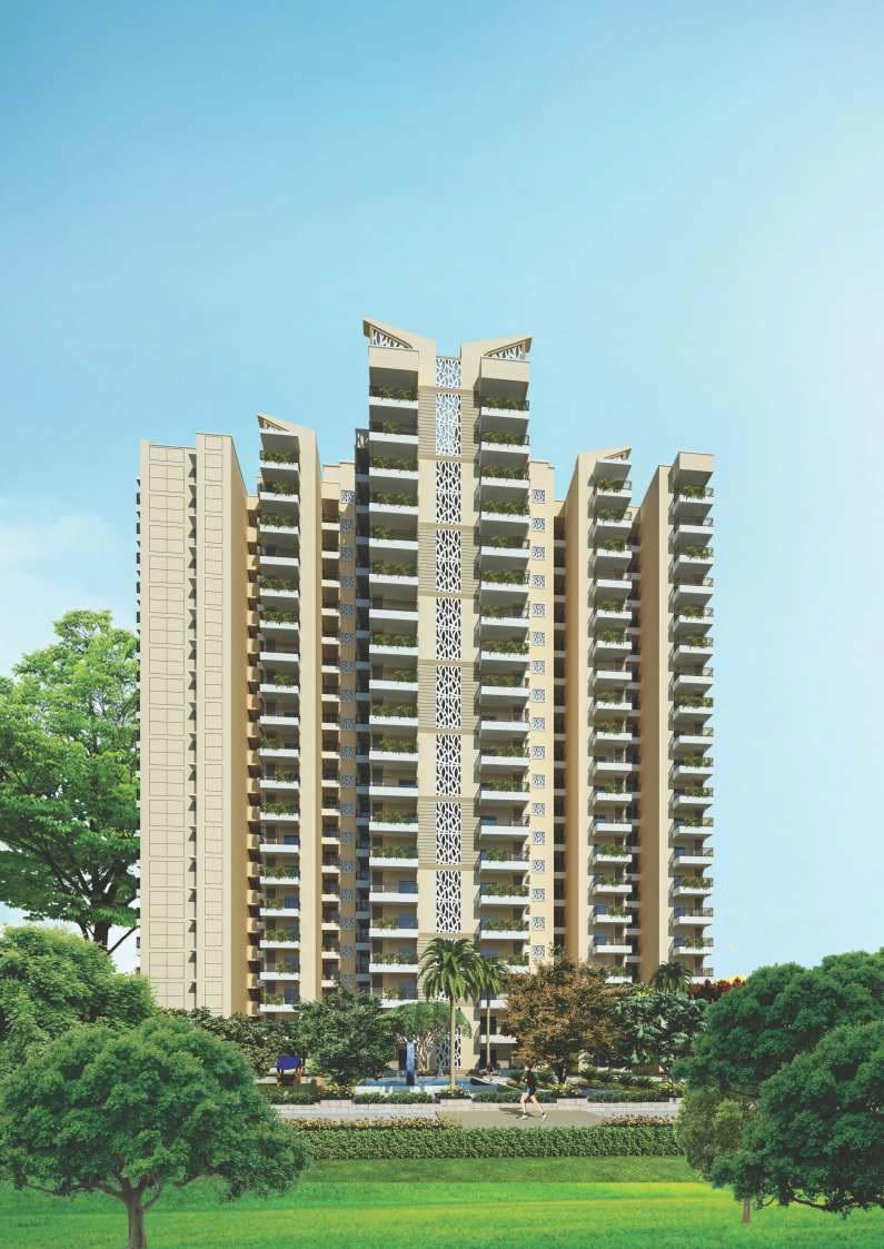 ajnara le garden prime tower tower view5