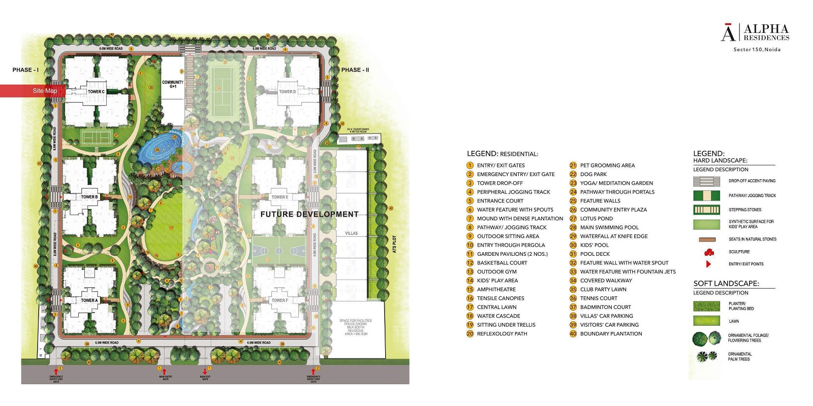 alpha residences project master plan image1