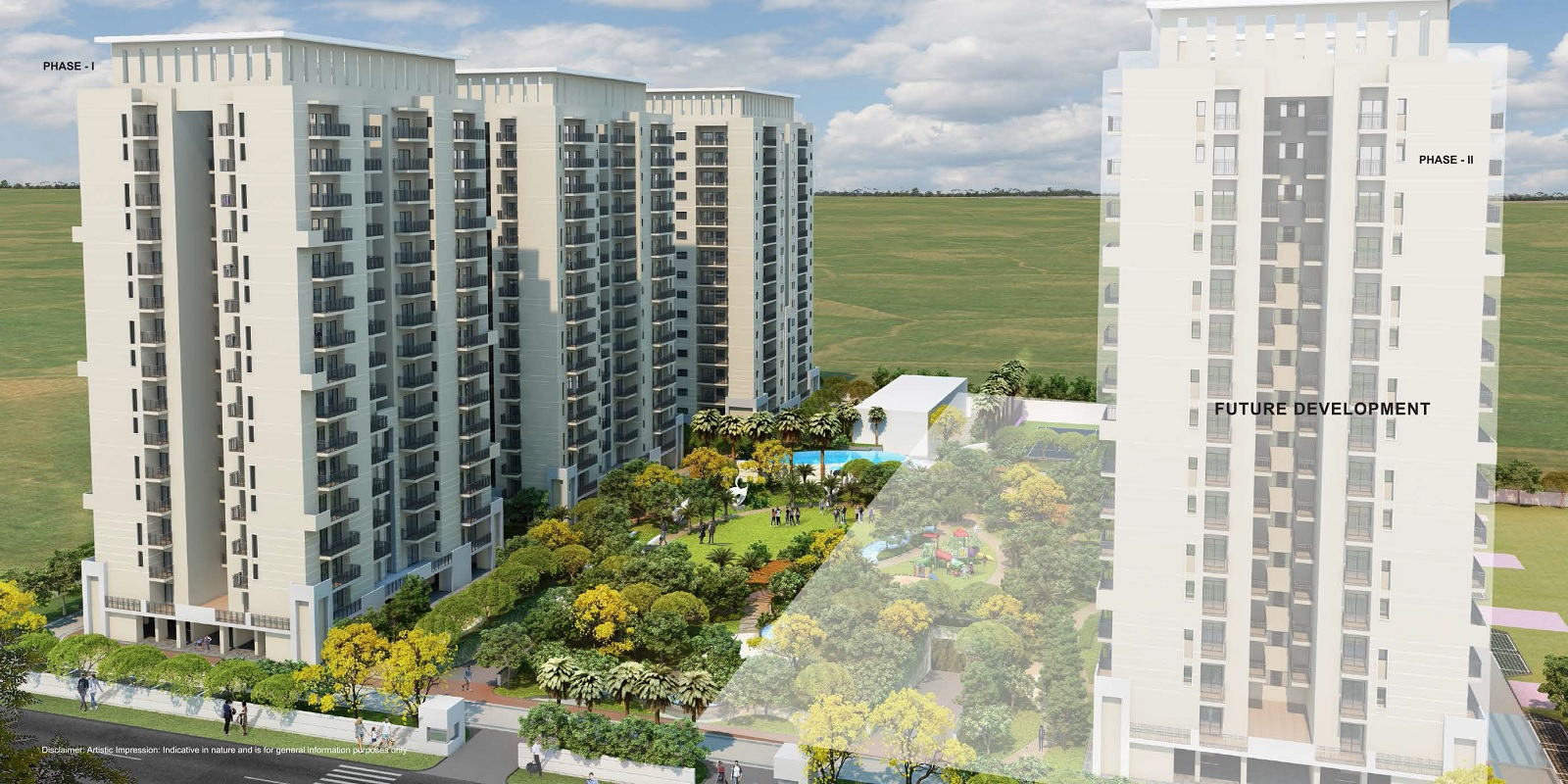 alpha residences project tower view2