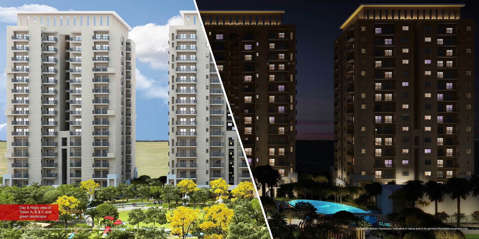 alpha residences project tower view3