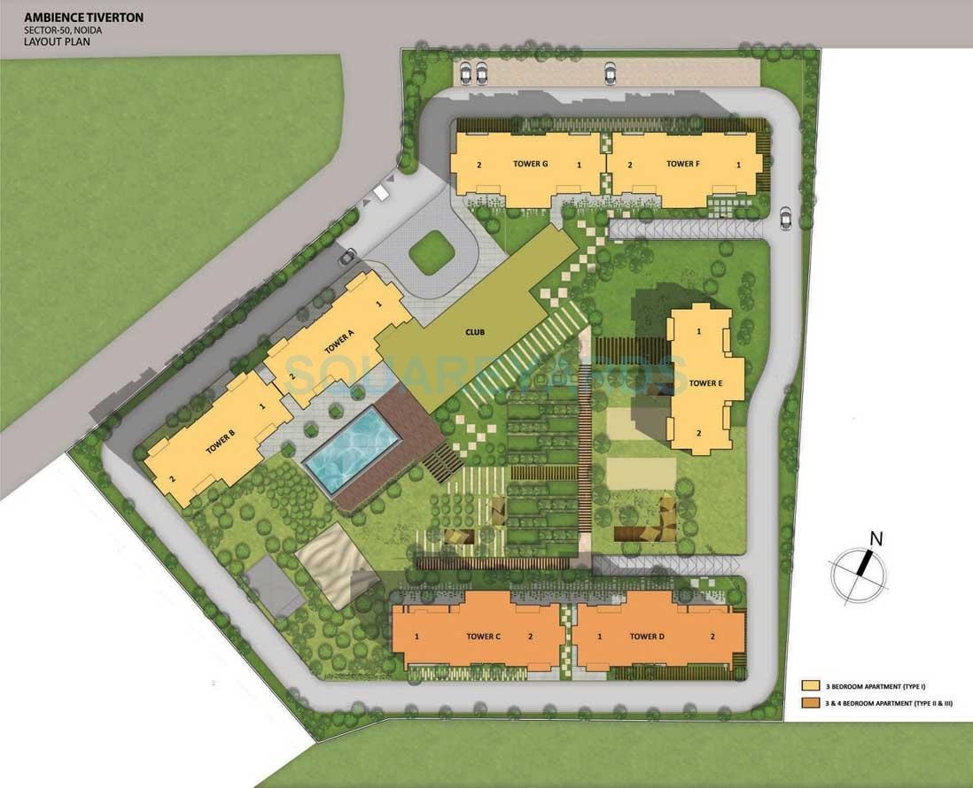 ambience tiverton project master plan image1