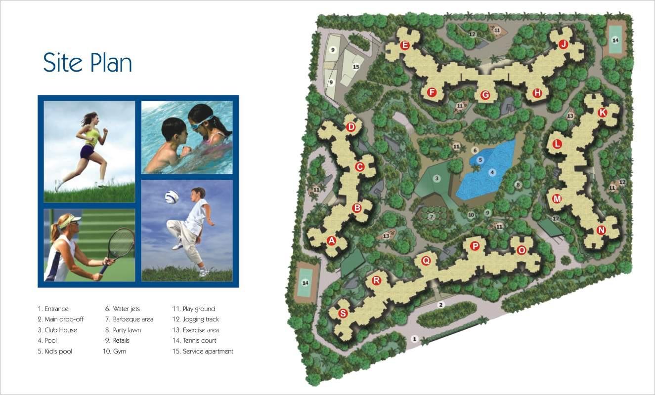 amrapali pan oasis project master plan image1