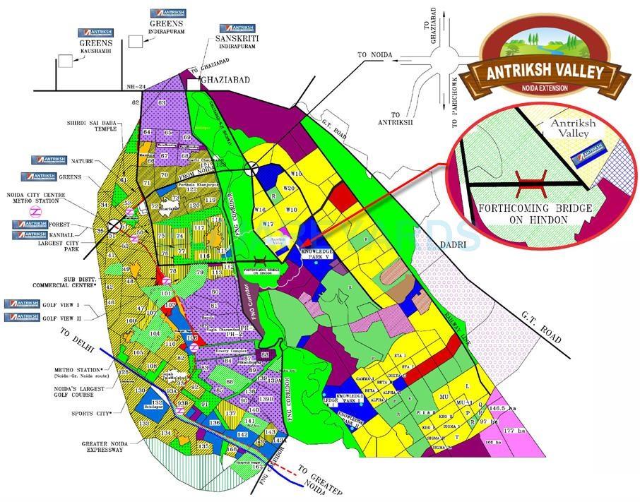 antriksh valley location image6