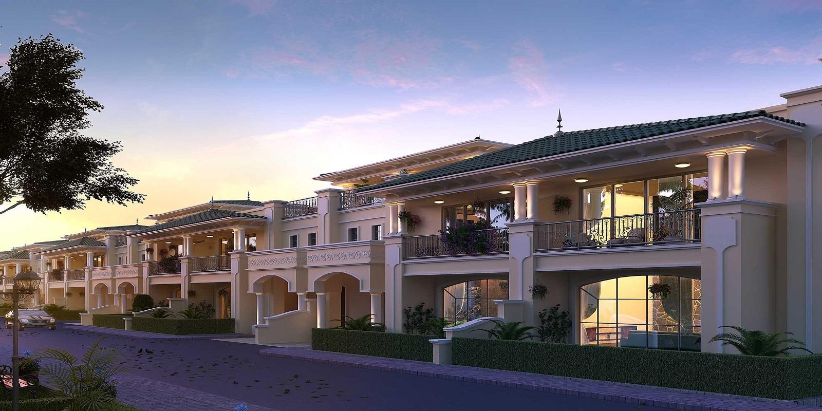 ats pristine golf villas project project large image1