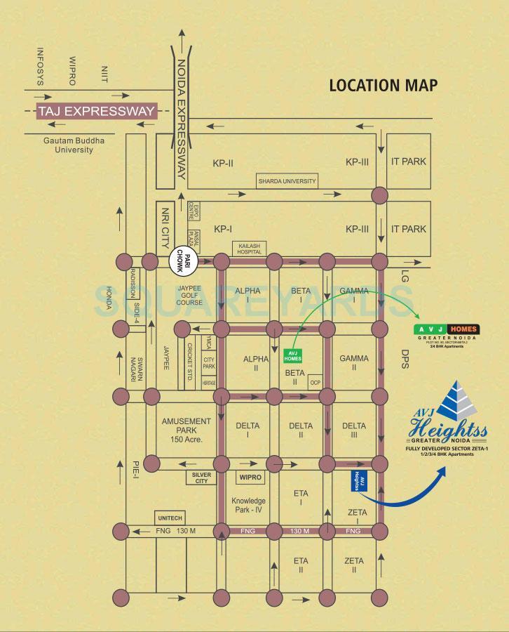 avj homes location image1
