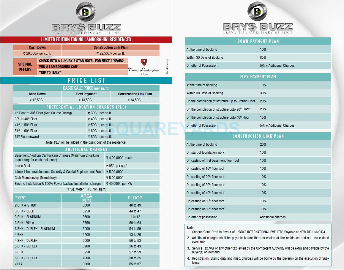 brys buzz payment plan image2