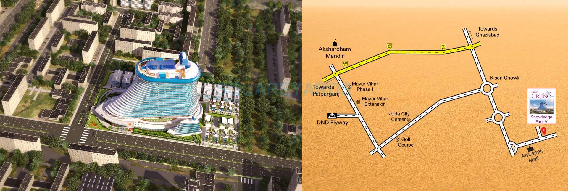 cosmic cruise villas location image1