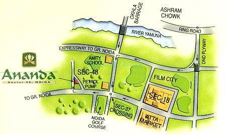 eldeco ananda location image1