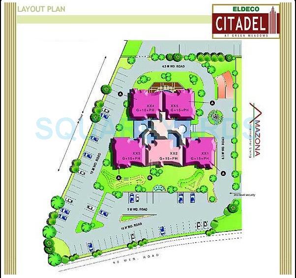 eldeco citadel master plan image1