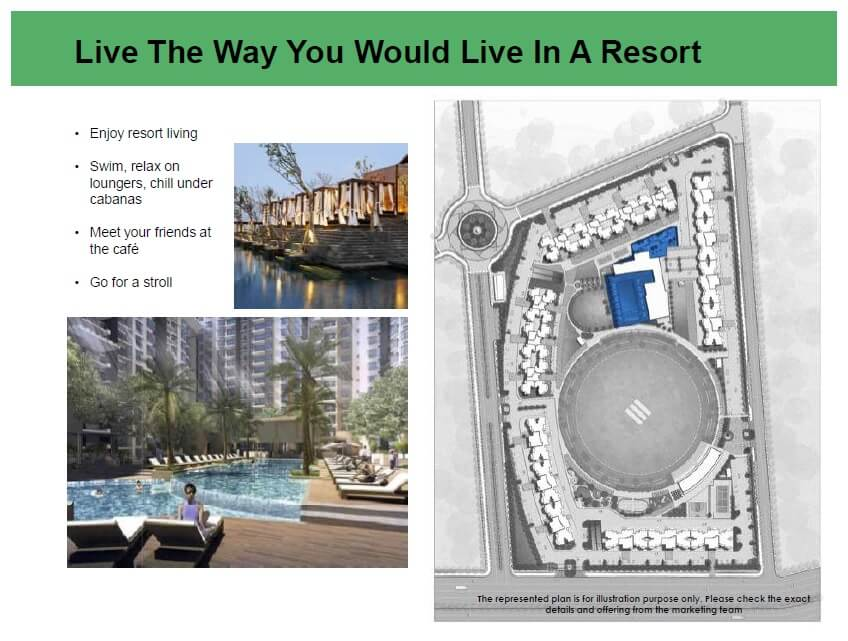 eldeco live by the greens amenities features1