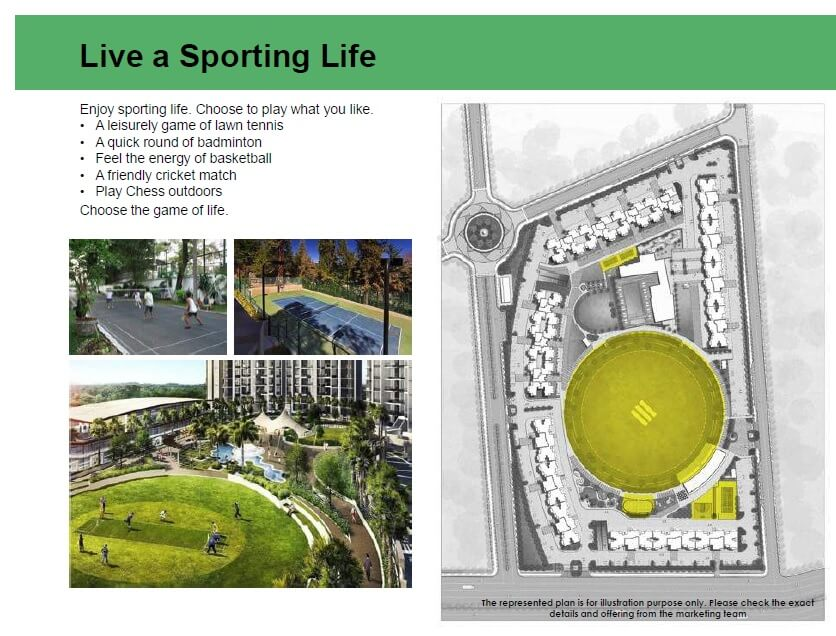 eldeco live by the greens amenities features2