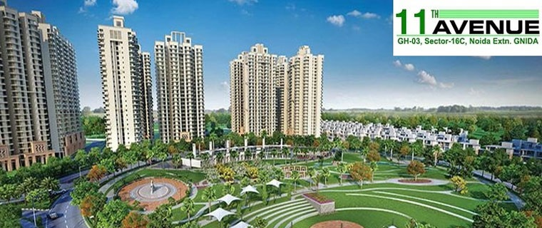 gaur city 2 11th avenue tower view8