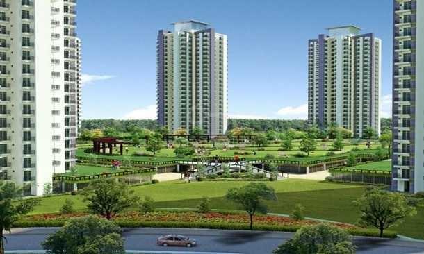 gaur city 5th avenue tower view7