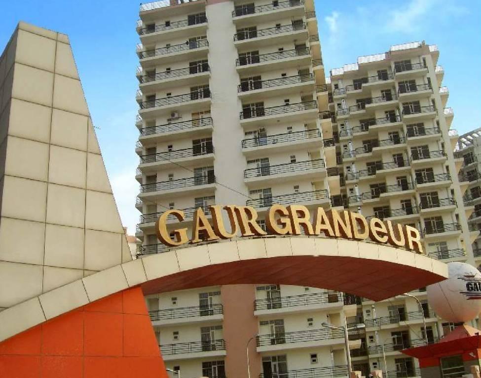 gaur grandeur project tower view4