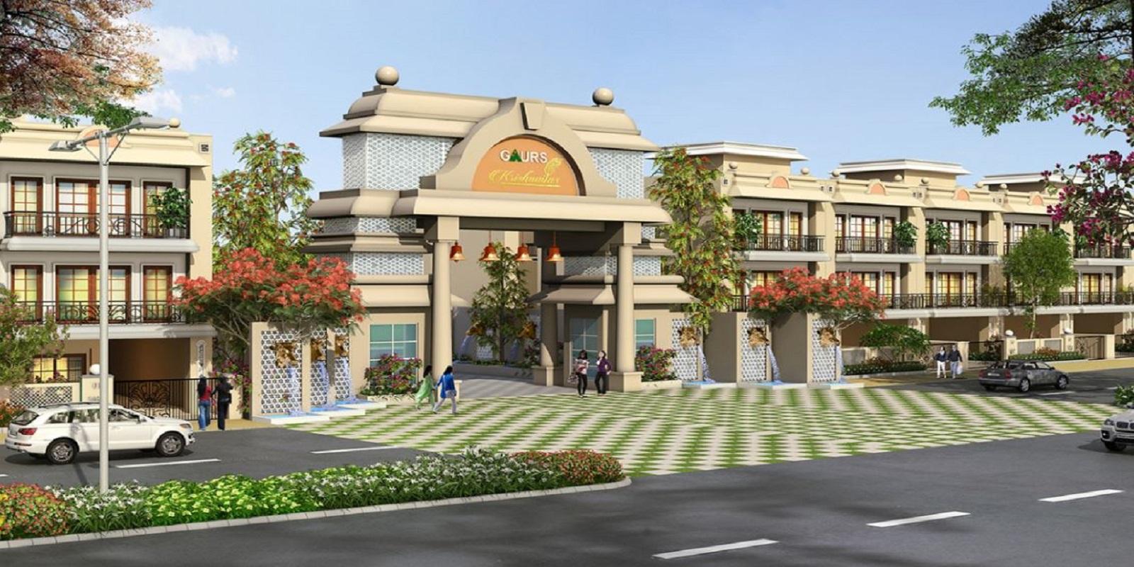 gaur krishnvilas 3rd parkview villas project large image2