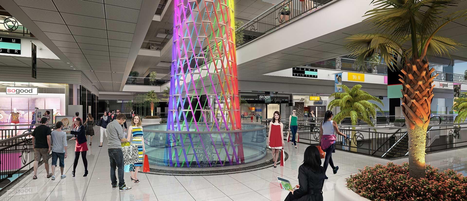 gaur world street tower view5