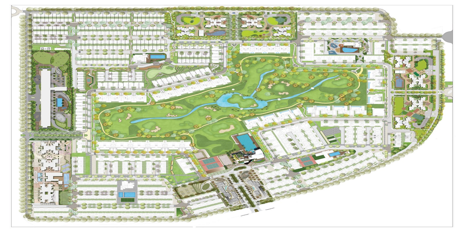 godrej golf links exquisite master plan image5