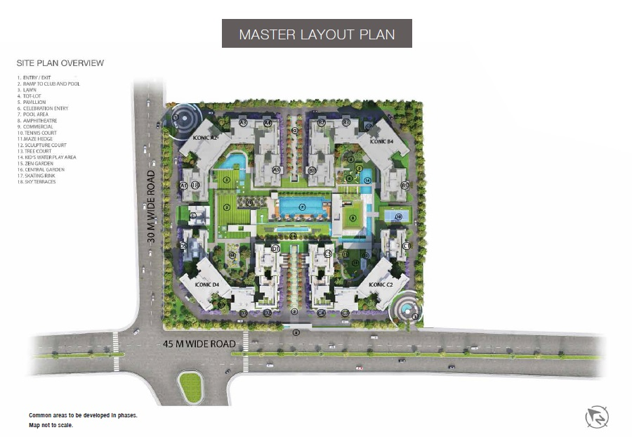 godrej palm retreat 2 master plan image5