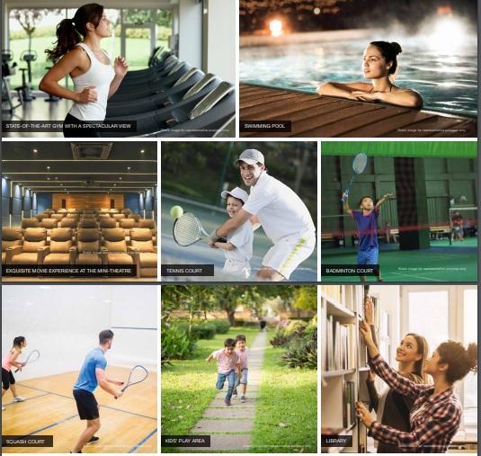 godrej palm retreat amenities features9
