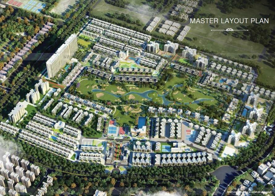 godrej park avenue master plan image1