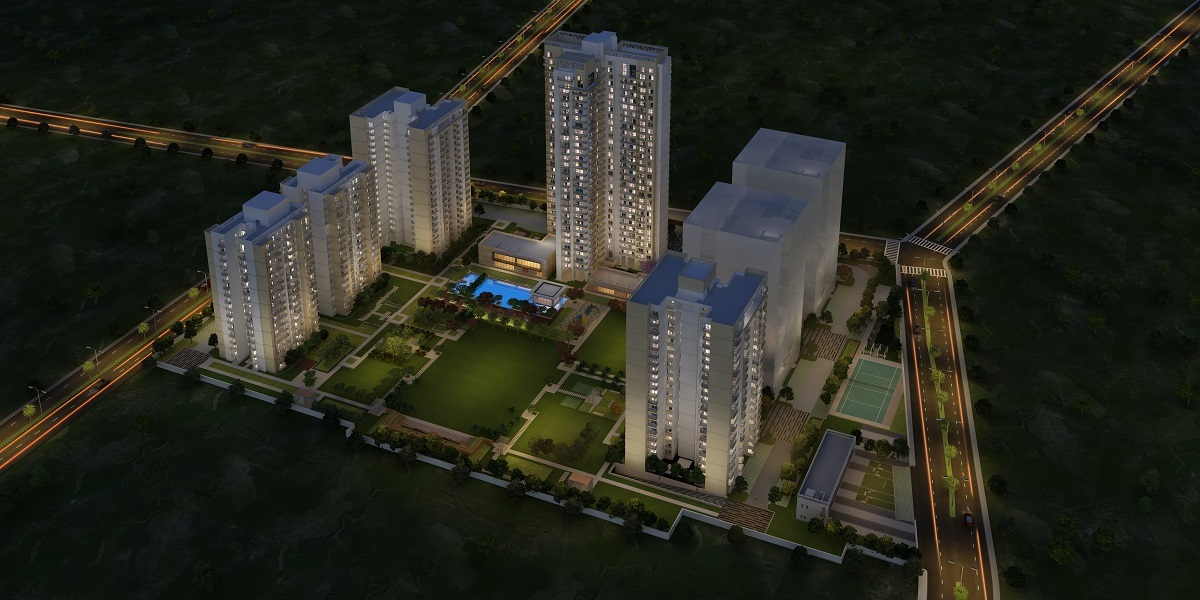 godrej solitaire project tower view1