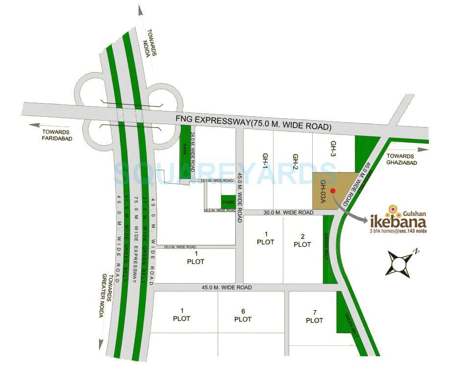 gulshan ikebana location image1