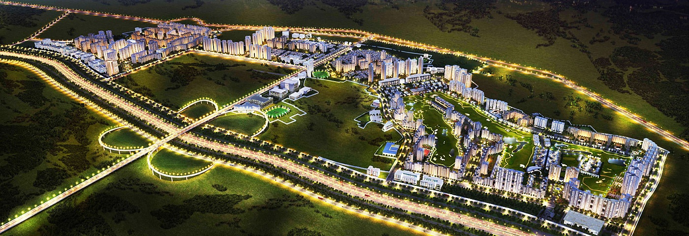 jaypee greens knight court tower view6