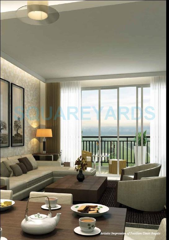 jaypee pavilion court royale apartment interiors1