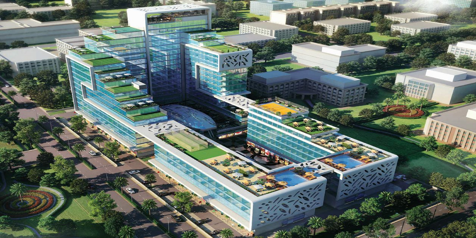 krasa centrade business park project project large image1