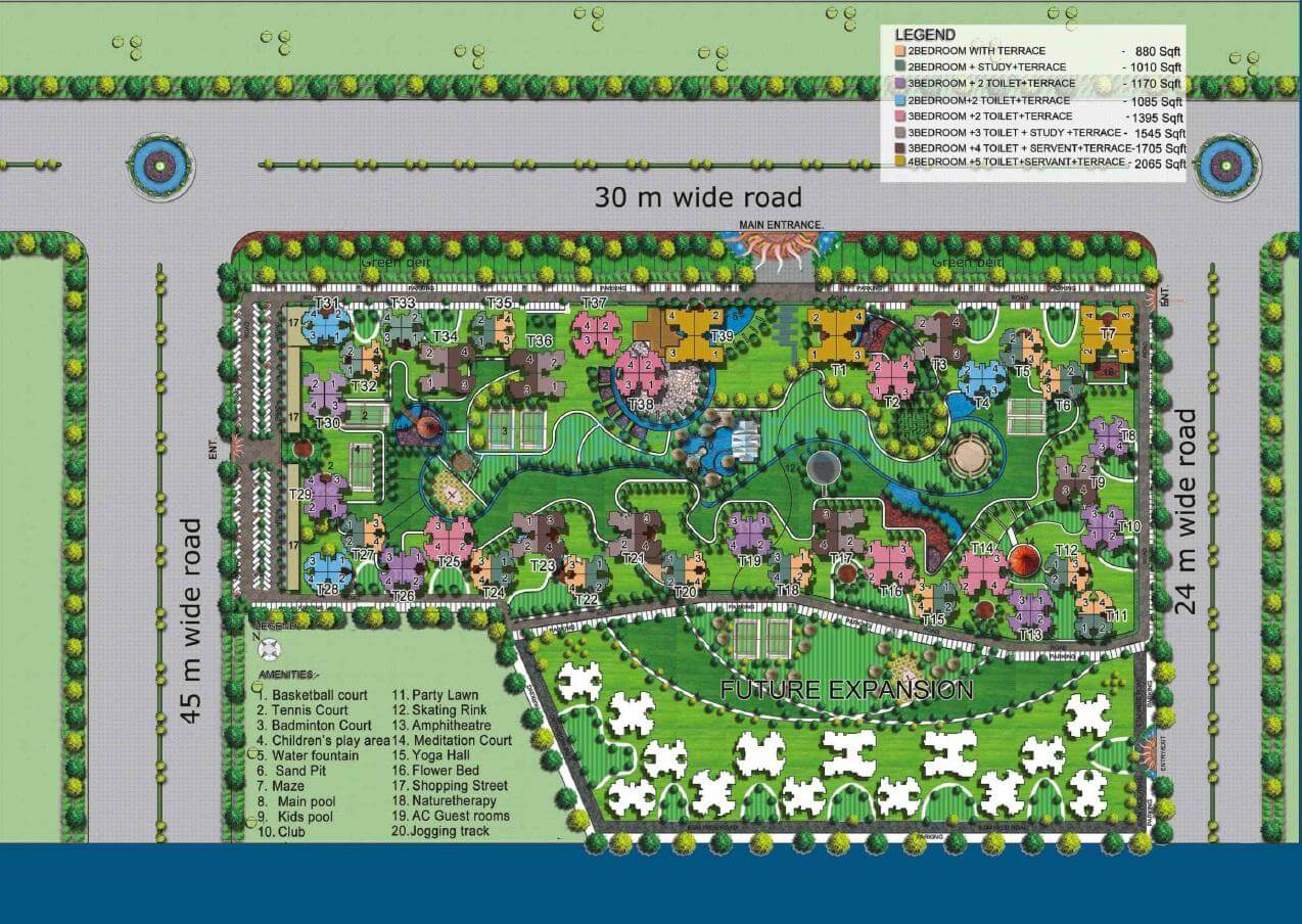 la residentia master plan image1