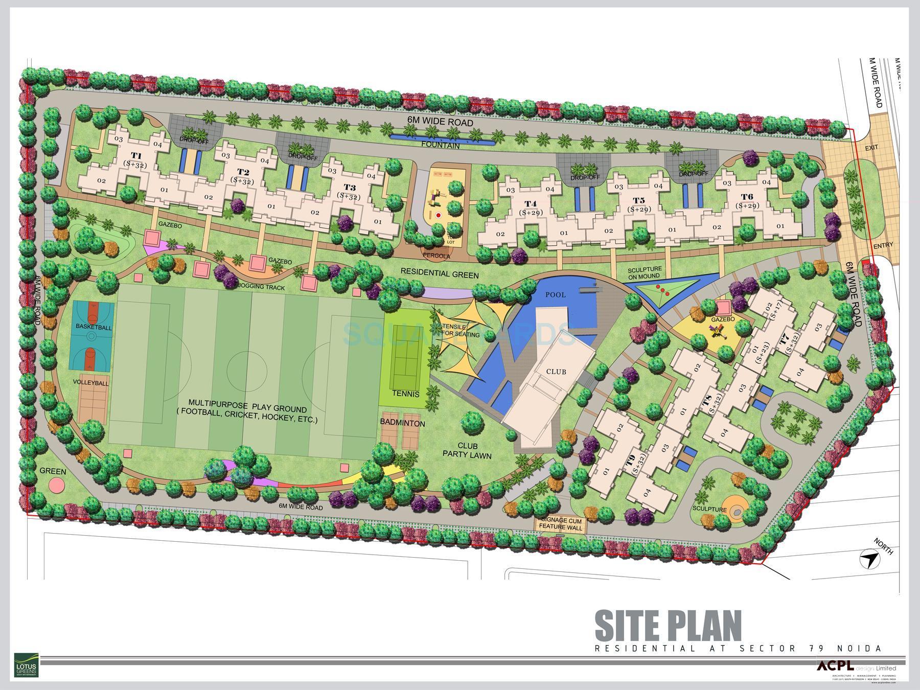 lotus green arena master plan image1