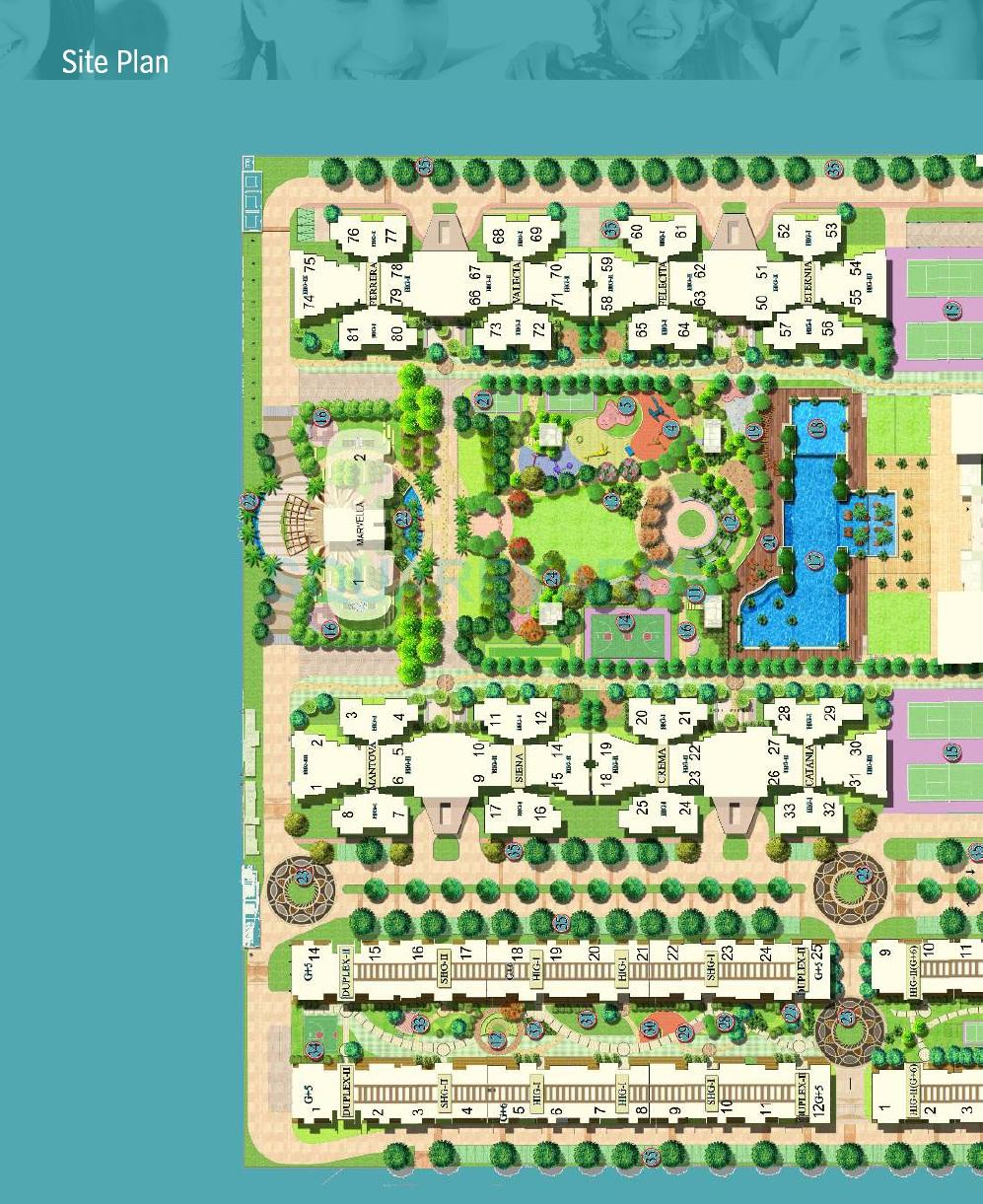 mahagun moderne master plan image1