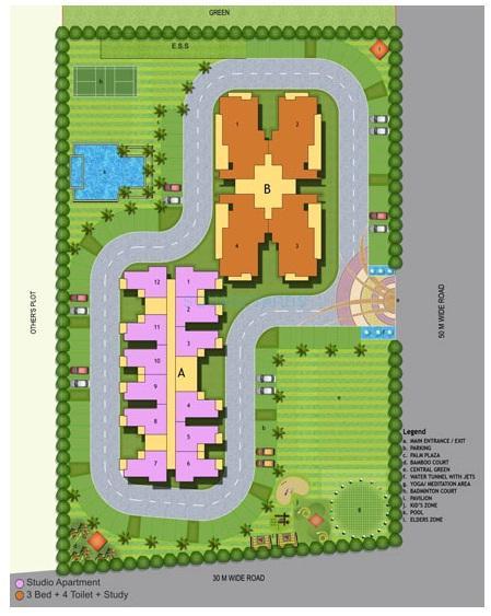 maxblis grand wellingtone master plan image1