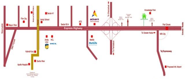neocasa om enclave project location image1