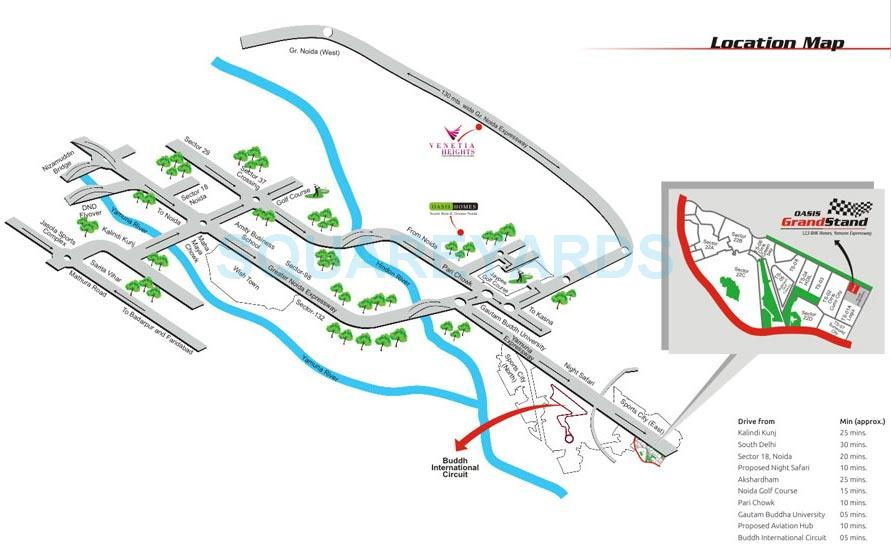 oasis grandstand location image1
