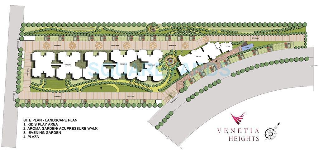 oasis venetia height master plan image1