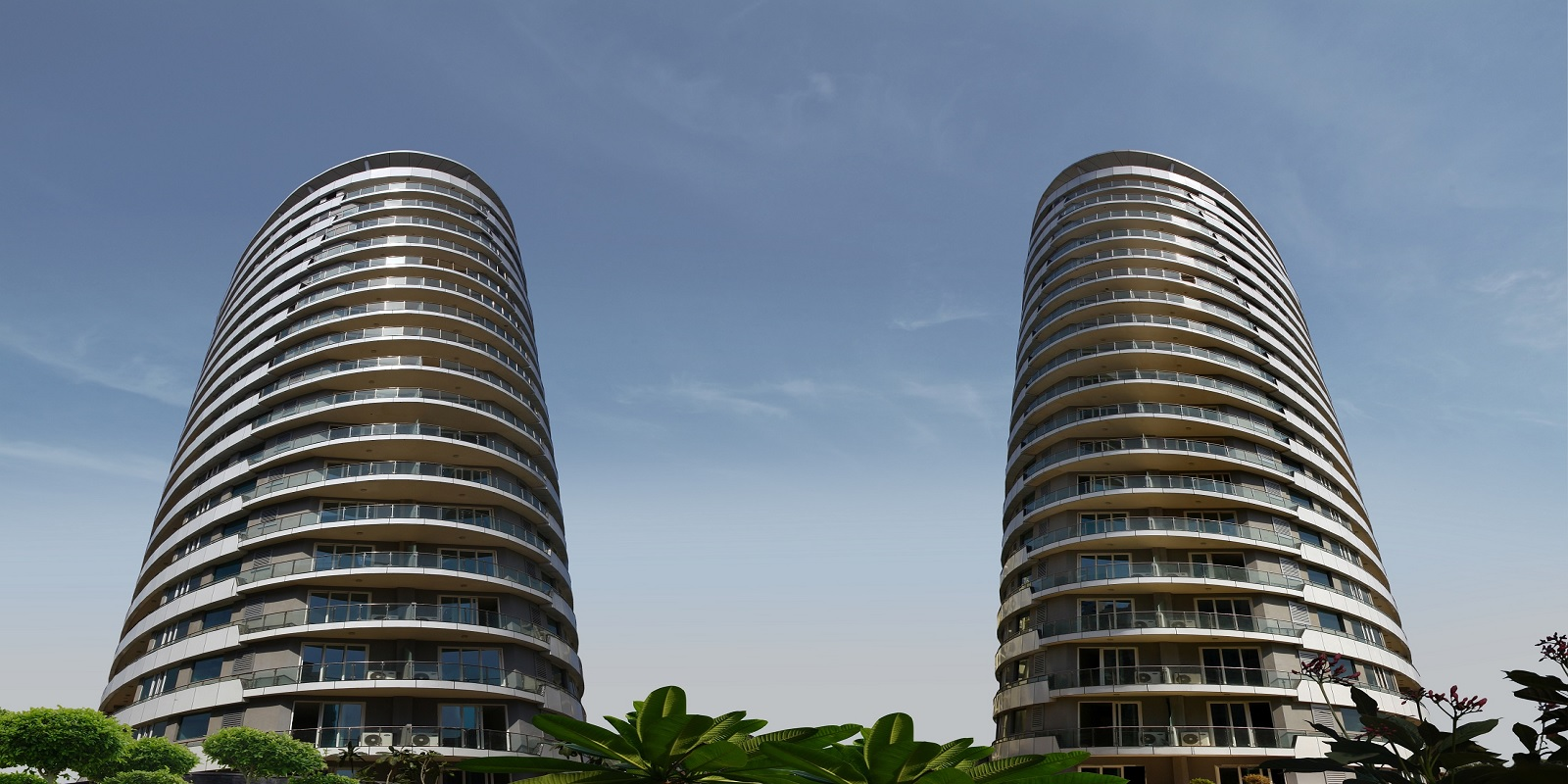 omaxe twin towers project tower view5